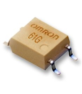 G3VM-61G1  MOSFET Relay, 60 VAC, 400 mA, 2 ohm, SPST-NO - G3VM-61G1