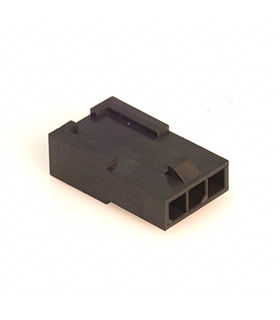 MX-43640-0301 - Ficha Molex MicroFit 3 Pinos Femea - 69MF3FSP