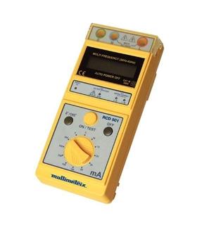 Testador de Diferenciais 3 a 500mA - Multimetrix - Chauvin A - RCD501