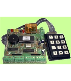 CD-17 - Placa de Controlo Para Displays com Teclado - CD-17