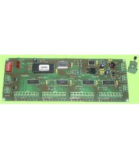 CD-25 - Placa de Controlo para Display, Relogio+Termometro - CD-25