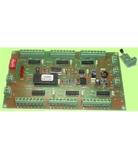 CD-26 - Placa de Controlo para Display, Relogio+Termometro - CD-26