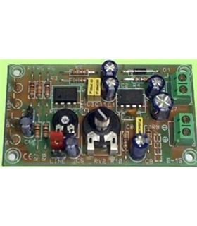 E-15 - Amplificador Mono 1.8W 6-16Vdc - E-15