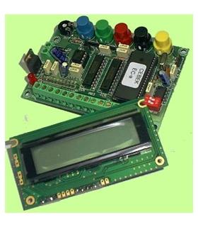 EC-21 - Lcd Programavel 15 Mensagens 4 Linhas 20 Caracteres - EC-21