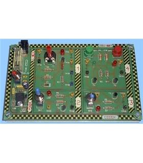 EDU-007 - Modulo Educacional Transistores NPN/PNP - EDU-007