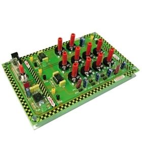 EDU-014 - Modulo Educacional NE555 Bi-Estavel - EDU-014