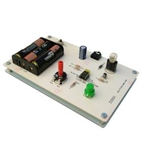 EDU-023 - Modulo Educacional Picaxe Controle de Lampada - EDU-023