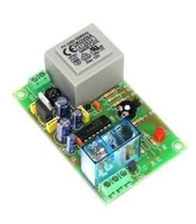 I137 - Temporizador Retardador 2 a 45m 230Vac - I-137
