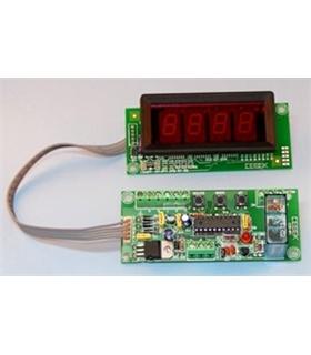 """I-203.1 - Temporizador com display 1"""" 12Vdc - I-203.1"""