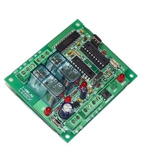 I-207.2 - Placa Receptora 2 Canais Controlada por Telemovel - I-207.2