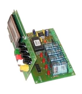 I-211 - Automatismos Programavel 240 Passos 4 Saidas 12Vdc - I-211