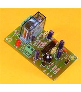 I-36 - Temporizador Retardador 1s a 3m 12Vdc - I36