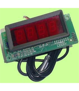 "I-86.2 - Termostato com Display 2"" 12Vdc - I-86.2"