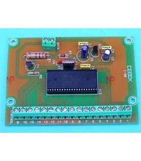 I-98 - Emissor de 16 Canais Multiplexado por Cabo - I-98