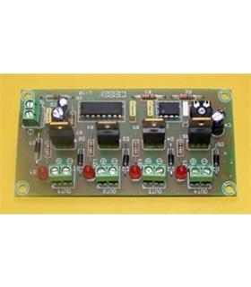 L-10 - Sequenciador 8 Saidas 12Vdc - L-10