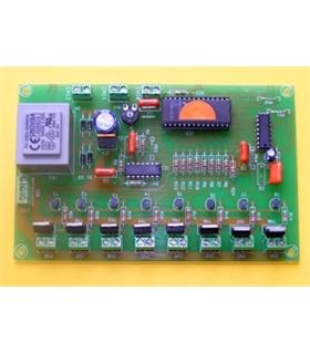L-8 - Sequenciador 8 Saidas 4 Programas 250W - L-8