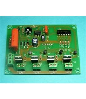L-5 - Sequenciador De 4 Canais 230Vac - L-5