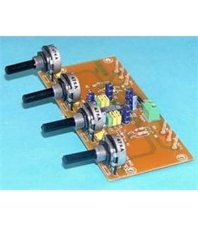 P-1 - Controlador de Tons Stereo 2 Canais 12Vdc - P-1