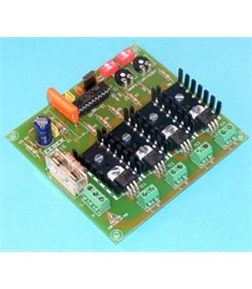 R-16 - Dimmer Regulador Dia/Noite Automatico 4 Saidas 500W - R-16