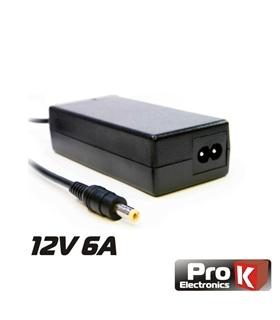 Alimentador 12v 6Amp Ficha 5.5x2.5mm - FAS12V6A