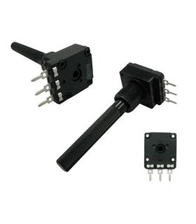 Potenciometro Rotativo C/Veio 4K7 OHM - 16204K7