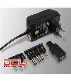DCU37200045 - Alimentador Eletronico 3-12V DC 1.5A+USB - DCU37200045