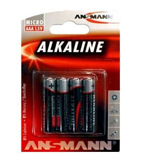Blister 4 Pilhas Alcalinas 1.5V LR03 - 169LR03