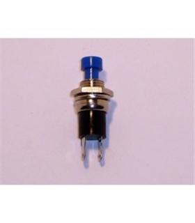 Pulsador Normalmente Aberto Botao Azul 3A 125Vac - PS03BL