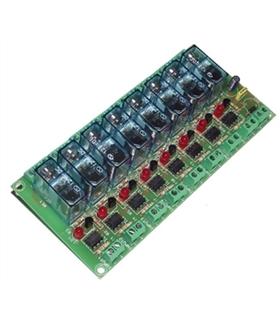 T-6 - Interface 8 Relés 1 Contacto 12Vdc - T-6