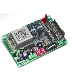 TL-104 - Receptor RF 2 Canais Mono/Biestavel 230Vac - TL-104