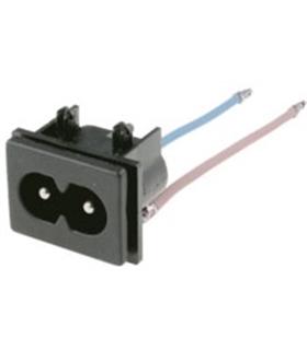 Ficha Tipo 8 Macho Para Circuito Impresso - IECC7MCI