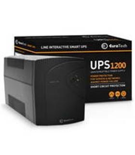 UPS1200EU - SMART UPS 1200VA / 720W 1USB 2RJ45 3SCHUKO - UPS1200VA