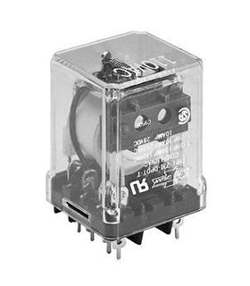 Relés de sinal fraco – circuito impresso TPDT 10A 12VDC - TPDT-C-12VDC