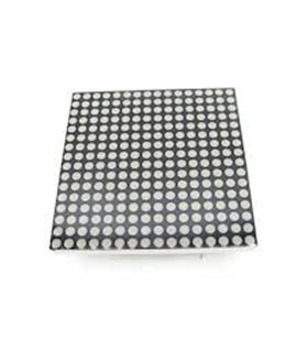 40MM Square 16x16 LED Matrix - Red - MX120601003