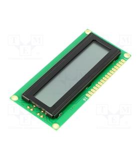 DEM16101TGH - Display LCD Alphanumeric STN Positive 16x1 - DEM16101TGH