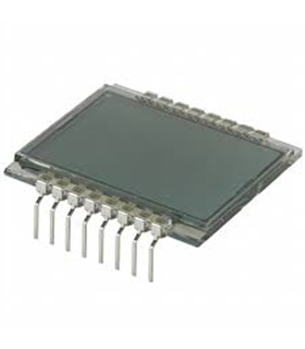 LCD-S2X1C50TR  - LCD DISPLAY 2-1/2 x 1, 12.7mm - LCD-S2X1C50TR