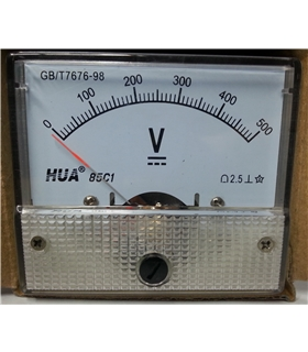 Voltimetro 0-300VAC - VM52300V