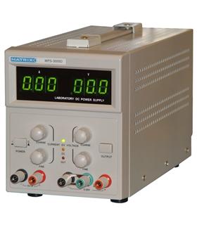 MXMPS3005D - Fonte de Alimentaçao Bancada 0-30V,0-5A+5V-1A - MXMPS3005D