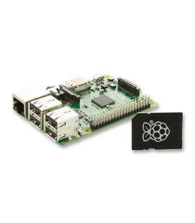 Raspberry Pi  Model B+ c/ Cartão 8Gb NOOBS - RASPBERRYB+SD