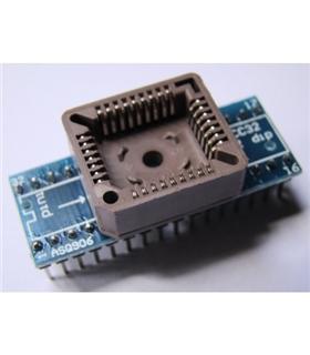 Adaptador PLCC32 Para Dip - PLCC32DIP