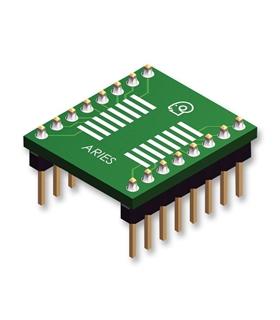 LCQT-SOIC16 - Adaptador Soic16 Para Dip 16 2.54mm - LCQT-SOIC16