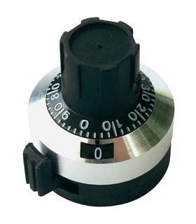 Botão para Potenciometro Multivolta - 215506