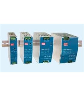 NDR-120-24 - Fonte Calha Inp. 90-265Vac Out.24Vdc 5A 120W - NDR-120-24