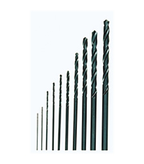 Conjunto de 10 brocas HSS DIN 338 - Ø0,3 a 3,2mm - 2228874
