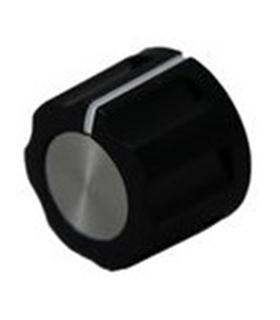 Botao Potenciometro, 16mm, veio 6mm - CFX5MT18
