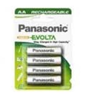 Baterias AA NiMH 1900Ah - Panasonic Evolta P-6E/4B -4 unid. - 1694R61900