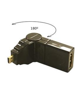 Ficha Adapt. Micro HDMI M / F HDMI 90º - MICROHDMIMHDMIF
