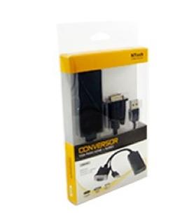 GR7010 - Conversor VGA/HDMI com áudio - GR7010