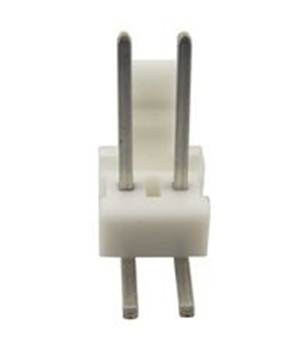 Ficha Pin Socket  2 Pinos 90º - 69PS2AR