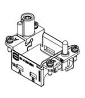 09140060361 - Suporte 2 Modulos A-F - MX09140060361